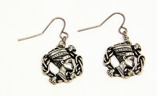 Egyptian Queen Neferneferuaten Nefertiti Earrings Set Premium Jewelry.Egypt J383
