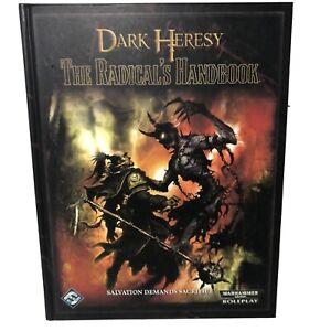 Dark Heresy. The Radical's Handbook RPG - Warhammer 40k Fantasy Flight Games