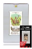 (5-Pack) Ultra Pro Mini Tobacco Size One Touch Magnetic Trading Card Holder - UV