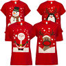 Fashion Men Women Unisex Novelty Christmas Xmas T-shirt Top Tee Festive Gift