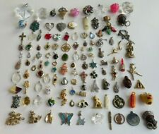 Vintage Lot Small ~ Med Pendants, Charms, Craft or other, Real & Faux Stone