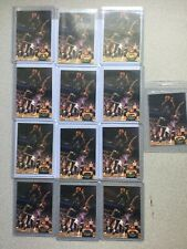 (13) CARD ROOKIE LOT 1992-93 TOPPS STADIUM CLUB SHAQUILLE O'NEAL MEMBERS CHOICE