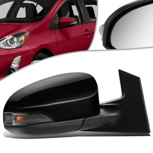 Fit 12-15 Toyota Prius C Powered+ Heated Turn Signal Side Mirror Right TO1321298
