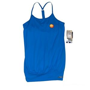Asics Women's Athletic Semi Fitted Y Back Tank Top WR1018-54 Tennis SZ Large NWT