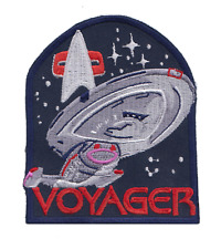 Star Trek Voyager Embroidered Mission Patch