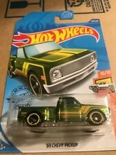 2020 HOT WHEELS SUPER TREASURE 69 CHEVY PICK UP TRUCK NEW ON CARD