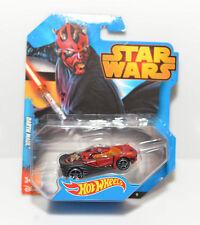 Star Wars Hotwheels -- Darth Maul Sports Car -- Die Cast, 2014