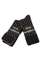 hugo boss Men's Designer Plain Luxury socks  6 pairs Uk 6-11 Christmas GiftPack