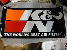 K&N The World's Best Air Filter Pair of Trailer Size Stickers!! 15X30""