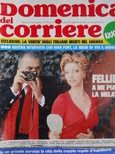 Domenica Del Corriere n°14 1974 Federico Fellini Remigio Paone Re Feisal II[D24]