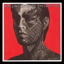 The Rolling Stones - Tattoo You - Framed Album Cover Print ACPPR48037