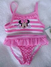 MINNIE MOUSE 2 PC SWIMSUIT - SZ 3/6 MOS. 6/9 MOS. - NEW