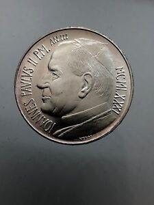 Citta' del Vaticano / Vatican Giovanni Paolo II 500 Lire 1981 dc/unc arg.