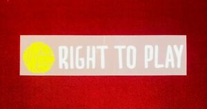 2019/20/21 Liverpool FC Right To Play Home Soccer Jersey Sponsor Patch