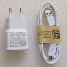 Original EU Wall Charger+USB Data Cable For SamSung Galaxy Note 2 II N7100 S3 S4