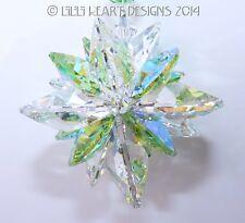 m/w Swarovski Clear + Rare AB Peridot SUPER STAR Suncatcher Lilli Heart Designs