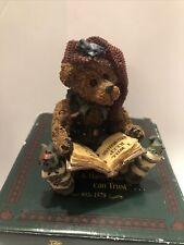 Boyds Bears Edmund The Elf Christmas Carol Bearstone Collection 11E/2530