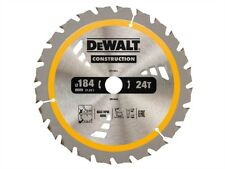 DEWALT - Construction Circular Saw Blade 184 x 20mm x 24T