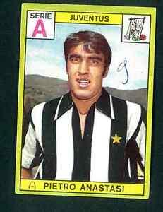 Figurina Calciatori Panini 1968-69! Anastasi! Juventus! Ottima!!