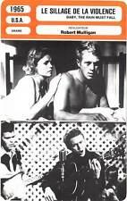 FICHE CINEMA : LE SILLAGE DE LA VIOLENCE - McQueen,Remick,Mulligan 1965