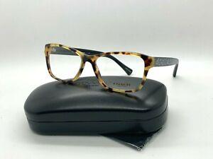 NEW Authentic Coach Eyeglasses HC6068 5311 TOKYO TORTOISE/BLACK 54-16-135MM/CASE