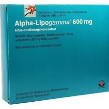 ALPHA LIPOGAMMA 600 Inf.Lsg.Konzentrat Inf.-Lsg. 5X24 ml PZN 2757322
