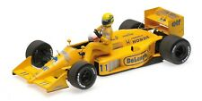 Minichamps Lotus Honda 99T Senna riding on Nakajima's Car 1987 Italian GP 1/18