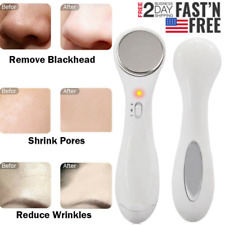 Facial Ultrasonic Skin Scrubber Spatula Extractor Face Peeling Deep Cleaner Tool