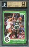 1985-86 star #99 ROBERT PARISH GREEN BORDER celtics BGS 9.5 (9.5 9.5 9 10)