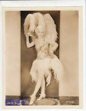 Helene Costello sexy leggy Good Time Charley VINTAGE Photo