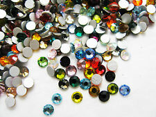 1440pcs Flat Back Crystal Rhinestones Shiny Gem Wholesale Nail Art Gel Tips