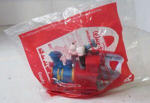 McDonald's Happy Meal Disney Mickey & Minnie's Runaway Railway Toys #1 Goofy Eng