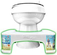 "7"" Toilet Squatty Stool Bathroom Potty Squat For Proper Toilet Posture New"