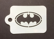 Batman Bat Logo Face Painting Stencil 190micron Washable Reusable Mylar