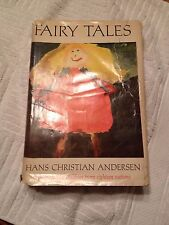 Vintage Book Hans Christian Anderson Fairy Tales See Note