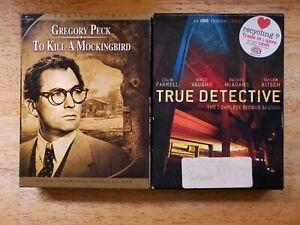 To Kill A Mockingbird DVD / True Detective Season 2 DVD