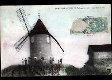 ROMANECHE-THORINS (71) MOULIN à VENT animé en 1906