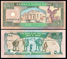 Somaliland 5 Shilling 1994 P 1 Unc