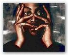 Intense Thoughts by Laurie Cooper African-American Art Print 20x16