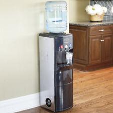 Water Dispenser Water Cooler Ice Maker Stand Up Black