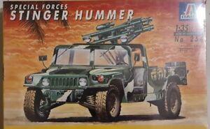 Italeri 1/35 Special Forces Stinger Hummer Model Kit