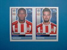 Topps Champions League 2016-17 2017 PSV 14 PSV 15 Propper Narsingh Pvs Eindhoven