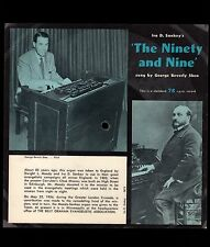 Vintage Square Cardboard PICTURE DISC Billy Graham Moody-Sankey Organ 1954