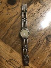 Movado Womens Esperanza Museum Dial Silver Watch Mirror Face EUC