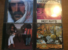 Frank Zappa [4 CD Alben] Apostrophe Overnight + Bongo Fury + Hot Rats + Sheik Y.
