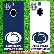 Penn State Cornhole Set of 6 Vinyl Decal Stickers Nittany Lions Bean Bag Toss