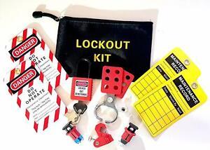 Mega Consumer Unit Safety Lockout kit Universal kit for Most MCB, RCD's