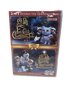 Elf On The Shelf Pets Fox Cubs Christmas Tale & Santa's St. Bernards Save DVD BR