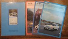 MERCEDES BENZ 200D 240D 300D orig 1976 UK Mkt Sales Brochure + Spec Folders W123