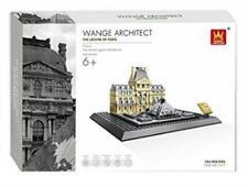 Louvre Paris Architecture Building Blocks Bricks- Wange